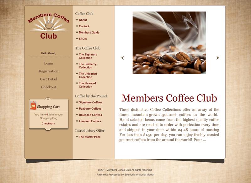 Members Coffee Club